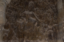 Sculpture Of Hindu God In Elep...