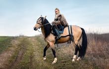 Warrior Viking Blonde Female R...