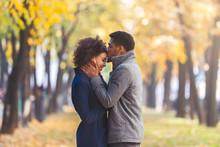 Black Young Man Kissing His Gi...