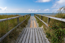 Way To The Westerland Beach - Sylt, Germany