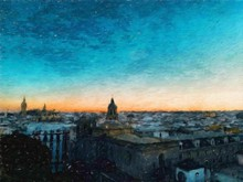 Digital Oil Painting On Canvas...