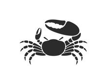 Fiddler Crab. Logo. Isolated C...
