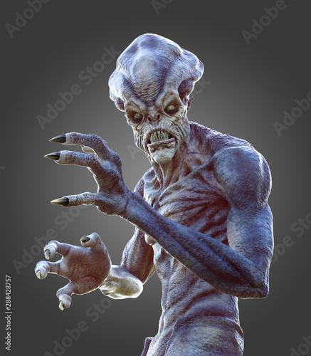 Photo  Lurking Alien Monster