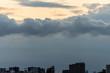 台風接近中の東京