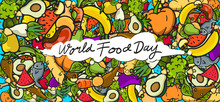 World Food Day Banner Vector I...
