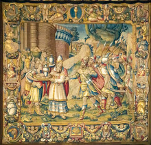 Detail Of The Tapestry From Co...