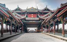 The Scenery Of Huanglongxi Lan...
