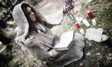 Fairy Magician. A Sorcerer Wit...