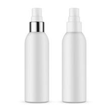 Plastic Spray Bottles Isolated...