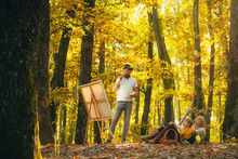 Painting In Nature. Start New ...