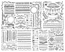 Hand Drawing Doodle Page Decor...