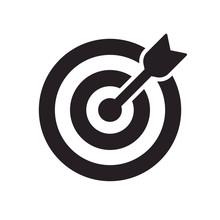 Vector Icon Goal. Arrows That ...