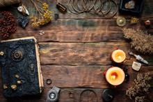 Magic Recipe Book And A Magic ...