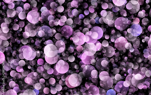 gradient colorful soft round circles  - 288514740