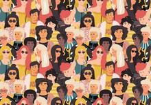 Women Pattern. Cute Internatio...