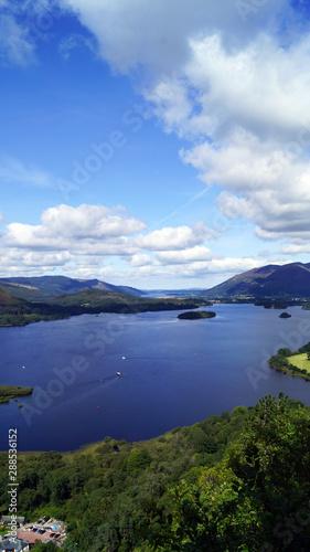 Poster Bleu Surprise View - Lake District