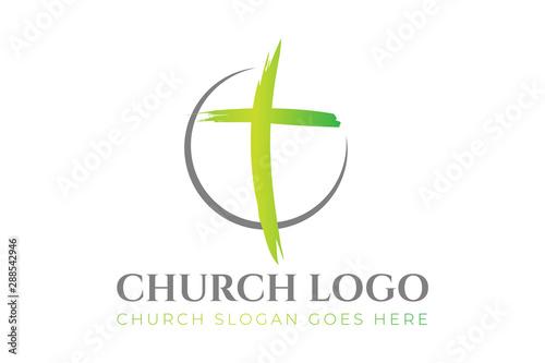 Canvas Christian Church Logo Design