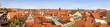 Leinwandbild Motiv Bamberg - Historische Stadtansicht