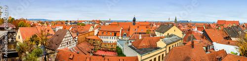 Foto op Canvas Oude gebouw Bamberg - Historische Stadtansicht