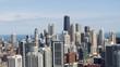 Chicago Aerial Cityscape - River North