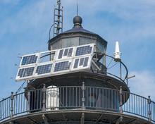 Solar Panels On The Lighthouse