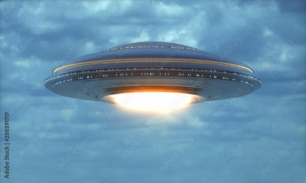 Fototapeta Unidentified Flying Object - UFO Science Fiction