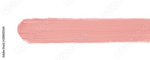 Obraz na plátně  Color corrector stroke isolated on white background