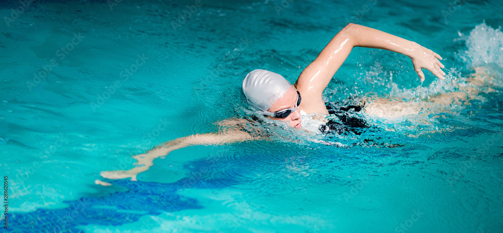 Fototapety, obrazy: Recreational Swimming