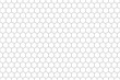 Leinwanddruck Bild - Abstract White Hexagonal net Seamless . Pattern honeycomb of texture background .
