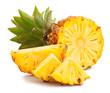 canvas print picture - mini pineapple