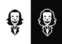 Joker Logo Icon Design Vector ...