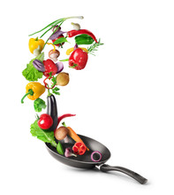 Cooking Concept. Vegetables Ar...