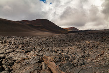 Rough Surface Of Frozen Lava A...