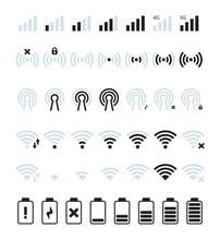 Phone Mobile Signal. Wifi And ...