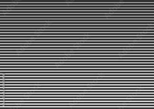Fototapety, obrazy: Horizontal lines, linear halftone. Pattern with horizontal stripes. Vector illustration.