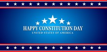Constitution Day Badge Logo Ic...