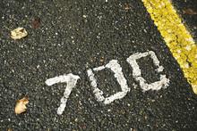 Number Seven Hundred On A Wet ...