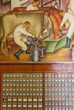 WPA Era Mural