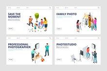Photo Shoot Landing Pages. Iso...