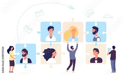 Obraz na plátně HR concept