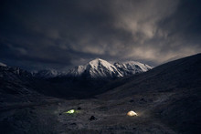 Camping In The Mountains At Ni...