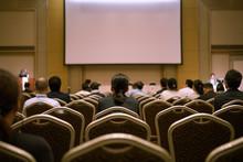 セミナー会場、カンファレンス、学会のイメージ