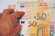 Money and cost of the life, Euro banknote