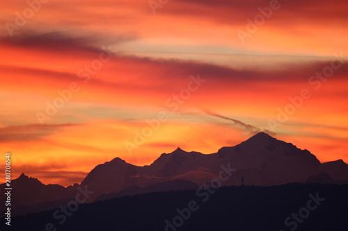 Papiers peints Corail Mont Blanc