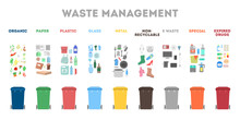 Waste Management Concept. Garb...