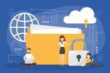 Data Privacy Concept. Idea Of ...