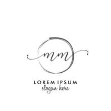 MM Initial Beauty Monogram Log...