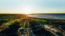 Pebble Beach Golf Sunset