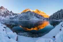 Winter Mountains Panoramic Lan...