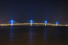 The Rio-Antirio Bridge In Gree...
